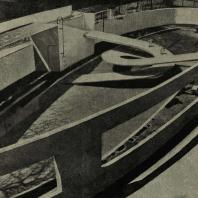 Лондон. Риджентс-парк. Сооружение для пингвинов. 1934 г. Арх. Любеткин и Тектон