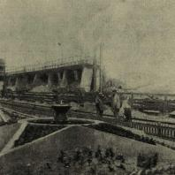 Краматорск. Фонтан в доменном цехе металлургического завода