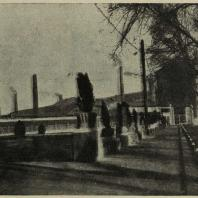 Таганрог. Озеленение входа на завод