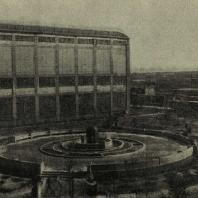 Ворошиловград. Фонтан на территории паровозостроительного завода