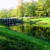 Царское Село. Екатерининский парк. Нижние пруды. Фото: tsarselo.ru