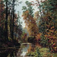 Парк в Павловске. Иван Иванович Шишкин. 1889 г.