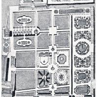 Планировка Летнего сада во второй четверти XVIII в. Усложнение контуров партеров и других садовых устройств в 40—50-е годы XVIII в.