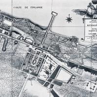 Дворцово-парковый комплекс. Петергоф в середине XVIII в.