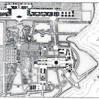 План усадьбы села Грузино