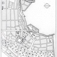 План Симбирска (Ульяновск), утвержденный в 1780 г.