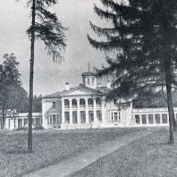 Парадный двор усадьбы Валуево