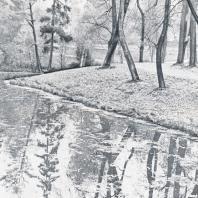 Гатчина. Сочетание воды, растительности и «рукотворного» рельефа