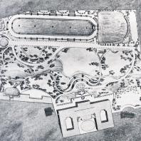 Проект парка-усадьбы А.А. Безбородко в Москве Н.А. Львова
