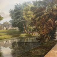 Кузьминки. Вид бани. Из альбома «Виды села Влахернского» (1841 г.)
