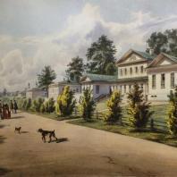 Кузьминки. Вид больницы. Из альбома «Виды села Влахернского» (1841 г.)