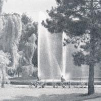 Кишинев. Фонтан в городском саду
