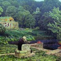 «Шум старого парка» (1926 г.) Из музея-квартиры А.М. Васнецова