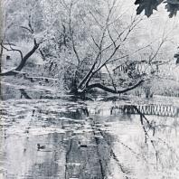 Осень в старинном парке Лефортово