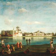 Н.И. Подключников. Вид усадьбы Останкино, 1833 год