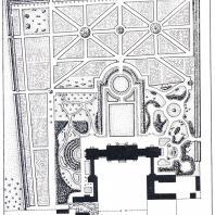План увеселительного сада и дома села Останкина (1793 г.) Архитектор А.Ф. Миронов