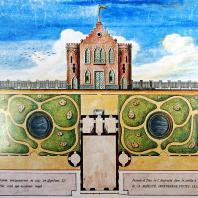 Царское Село. Адмиралтейство (план и фасад)