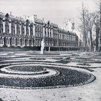 Партер у Екатерининского дворца