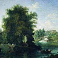 Пейзаж долины Славянки. Картина С. Щедрина