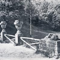 Павловск. Руинная ограда