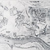 План Киева (X в.)