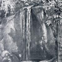 Алупкинский парк. Каскад