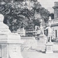 Массандра. Вид дворца