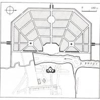 План Богородицка, утвержденный в 1778 г.
