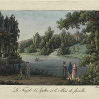 Le Temple d'Apollon et le Bois de famille