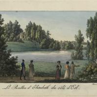 Le Pavillon d'Elisabeth du còté d'Est