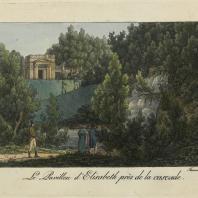 Le Pavillon d'Elisabeth près de la cascade