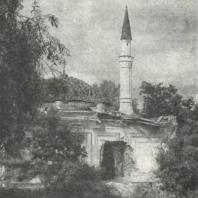 Царское Село. Турецкая баня, разрушенная фашистскими захватчиками. Фото 1944 г.