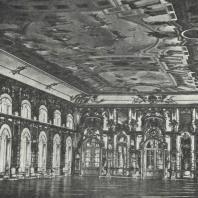 Царское Село. Большая галерея. Фото 1900-х гг.