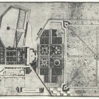 План Царского Села. 1766—1768 гг. Центральный государственный военно-исторический архив в Москве