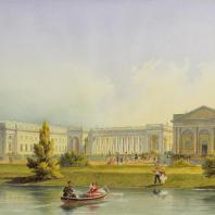 Александровский дворец в Царском селе. Горностаев А.М. 1847 г.