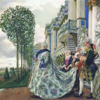 Императрица Елизавета Петровна в Царском Селе. Лансере Е.Е. 1905 г.