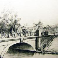 Большой Китайский мост. рисунок Ф. Перро