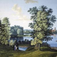 Большой пруд в Царско-Сельском парке. Щедрин С.Ф. 1777 г.