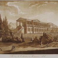 Вид Камероновой галереи в Царском Селе. Иоганн Христофор Майр. 1790-е гг.