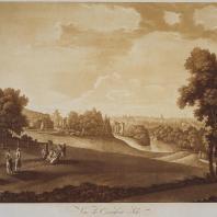 Вид парка в Царском Селе. Иоганн Христофор Майр. 1790-е гг.