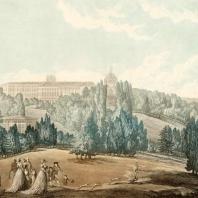 Прогулка Екатерины II В Царскосельском парке. Дамам-Демартре М.Ф. 1813 г.